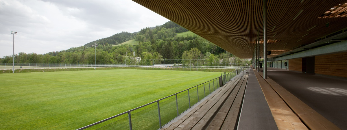 Tribüne - Athletic Area Schladming