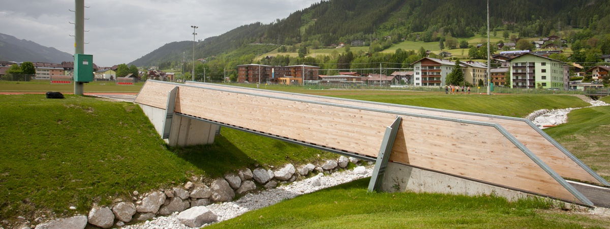 Brücke zum Trainingsplatz - Athletic Area Schladming