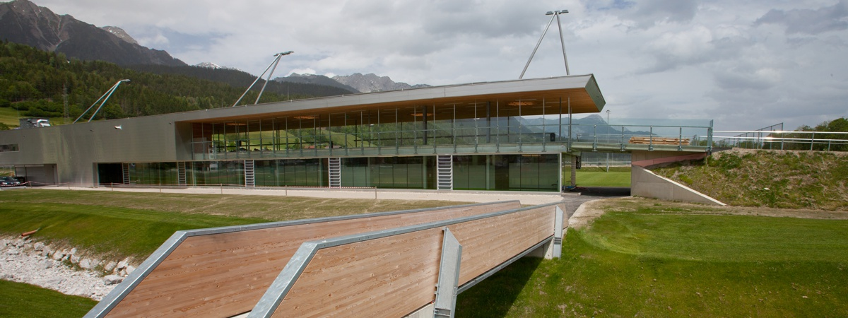 Stadiongebäude Athletic Area Schladming