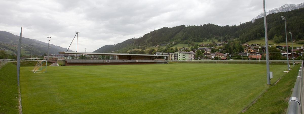 Hauptspielfeld Athletic Area Schladming
